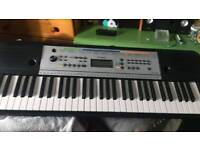 Keyboard (With attachable music note stand) with Stand and Music Book (Will consider all offers)