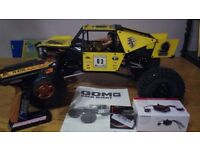 Rc Gmade gom crawler + dig new built kit (not axial losi hpi vaterra )