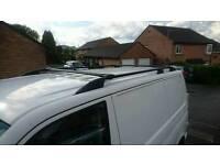 Vw Transporter T5 roof rack, satin black, vgc