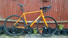 Pinnacle Dolomite 3 Road Bike Disc RRP £649+ not Giant Scott Specialized Trek Gravel