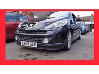 Convertible --- 2009 Peugeot 207 CC 1.6 HDi FAP GT --- Diesel --- 37000 Miles --- Low Mileage