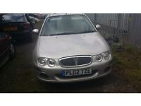 rover 25 automatic 1.6 petrol