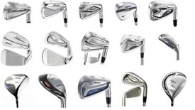 Wholesale & Job Lot 135 Assorted Mizuno Golf Clubs Irons, Driver, Fairway Wood