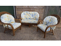 Conservatory Bamboo Set of Furniture