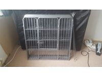 Heavy Duty 6 Panel Puppy Play Pen/ Rabbit Enclosure