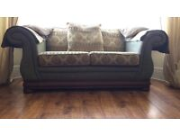 Settees x2 three seaters *REDUCED*