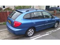 KIA RIO 2004 AUTOMATIC 1.3 LE ESTATE, MOT OCTOBER 2017 AND ONLY 81,000 MILES.