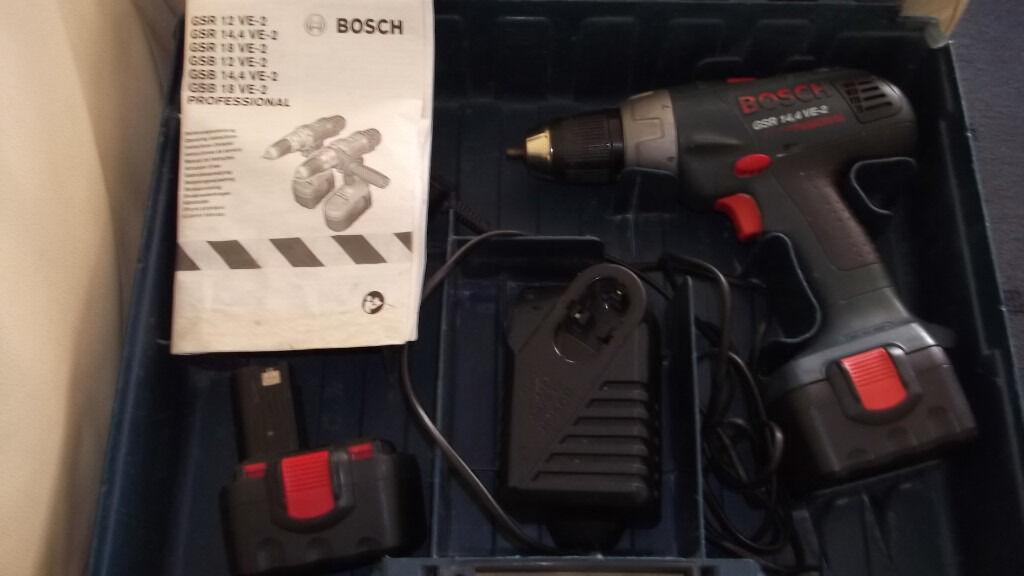 BOSCH GSR 14,4 VE-2 PROFESSIONAL cordless drill