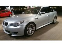 BMW M5 2007 57 PLATE FACE LIFT LSI MODEL SMG SEVEN SPEED HEADS UP DISPLAY MODEL