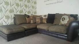 Price drop **** Corner sofa & 2 seater sofa vgc