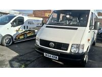 VW LT 46 17 seater minibus in great condition, low mileage, one company owner