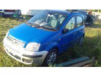 Fiat panda 05 plate petrol manual