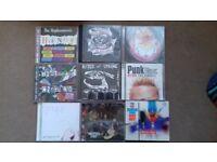 Punk and funk CDs