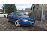 2001 Audi TT 1.8 Turbo Quattro 225 BHP BAM Blue FULL HISTORY Long MOT Roadster A3 Golf GTI Type R