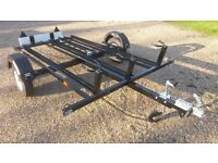 3 bike Motorcycle Trailer