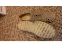 """Hotter"" Beige Lace-Up Shoes"