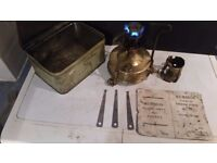 BURMOS 21 CAMPING PARAFFIN STOVE - FULLY WORKING, EXCELLENT CONDITION
