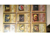 POKEMON CARDS rare and individual prices