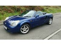 Toyota MR2 Roadster MOT Aug 18