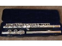 JP silver Flute in good condition
