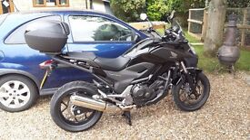 HONDA NC 750 Commuter bike, single owner and dealer serviced from new.