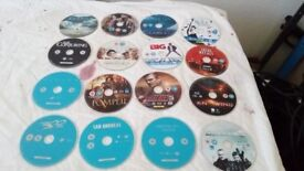 54 Blu-Ray dvd's in sleeve