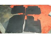 Genuine VW Touran rubber floor mats