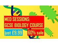 GCSE BIOLOGY ONLINE COURSE - £9.99 (60% off)