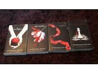 Twilight set by Stephanie Meyer