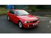 2001 BMW 318CI SE COUPE MOT FEB £650 ONO