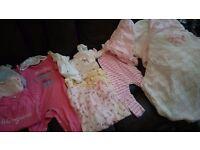 13 piece baby girl clothes bundle