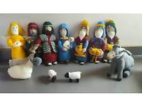 Knitted Christmas Nativity