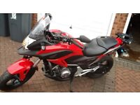 2012 HONDA 700 DCT IN RED. IMMACULATE.