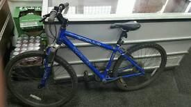 Twist gear suspension mountain bike