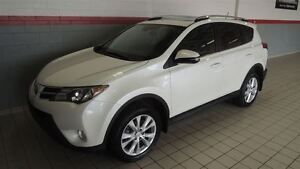 2014 Toyota RAV4 LIMITED TECHNO 4WD CUIR-TOIT-NAVIGATION