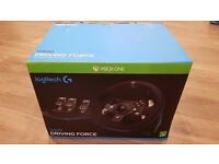 Logitech G920 steering wheel xbox and pc