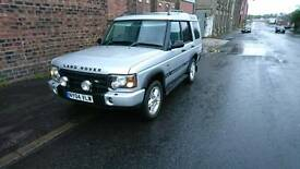 Landrover Discovery 2 td5 landmark edition 7 seater. Sell swap or px