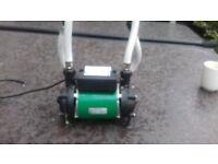 Salamander Twin Shower Pump