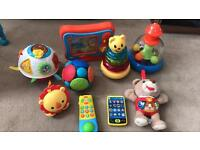 Selection of baby toys 6m+