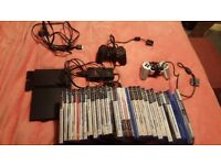 Ps2 slim and 28 games