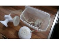 Tommee Tippee electric breast pump and microwave steriliser