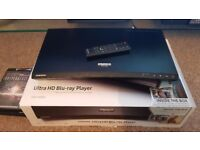 Samsung UBD-K8500 Smart Ultra 4k Blu-Ray + 3 Movies
