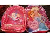 2 frozen kid bags