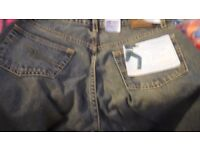 """NEW WITH TAGS - Lee Cooper LC16 Mens Flare/Flared Leg Jeans - 28"""" Waist 32"""" Leg - BARGAIN £5"""