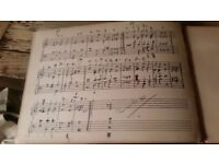 Someone who can read music sheets