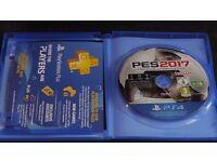Pro Evolution Soccer 2017 PS4 Game PES 17 - like New - PAL
