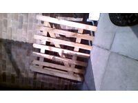 wooden garden gate as new