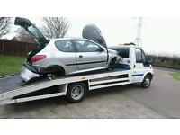 Peugeot 206 1.1 engine and gearbox parts breaking