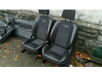 Renault megane 225 full half leather interior