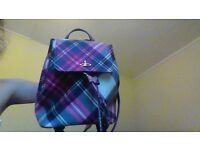 Immaculate condition 100% Genuine Vivienne Westwood Tote Backpack 4months old